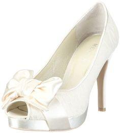 Menbur Wedding Amis 04613, Escarpins femme - Blanc cassé-TR-AF, 39 EU Menbur Wedding  90 €