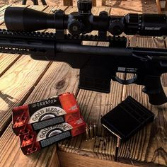 AB Arms Mod X Gen III Modular Stock System for the Remington 700 SPS Bolt Action Rifle .223 with the Primary Arms 4-14x R-Grid First Focal Plane Scope and Federal Premium Match .223 Matchking ammo. This set up is awesome. @ab_arms @primaryarms @remingtona