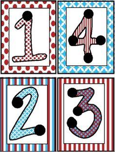Touch point cards for math wall Touch Point Math, Touch Math, Math Classroom, Kindergarten Math, Teaching Math, Preschool Education, Homeschool Math, Fun Math, Math Activities