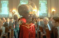 """Director Tim Burton played around with B-movie tropes and pop art notions of Martians in his 1996 film """"Mars Attacks!"""" Brian De Palma followed up a few years later with """"Mission to Mars,"""" a huge critical and commercial bomb. (Although the French critics liked it -- really.)  What We Think Martians Look Like"""