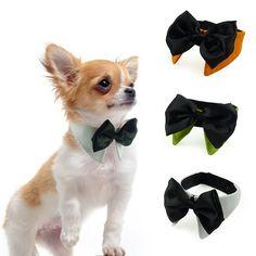 Encontrar Más Accesorios para perro Información acerca de Accesorios de la  Boda Corbata Perro alimentos para Mascotas Gatos Perros Grooming Bowtie  Cuello ... e635568fd0ed