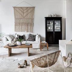 Indie Home resort style.... @indiehomecollective Featuring the Vittoria slip cover sofa & the new Retro rocking chair. #indieliving #vittoriasofa #indiehomecollective