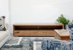 Dwellingup Marri or Jarrah Timber Lowline TV Unit Custom Furniture, Furniture Ideas, Lowline Tv Unit, Living Room Decor, Living Spaces, Multipurpose Room, Tv Cabinets, Furniture For Small Spaces, Entertainment Center