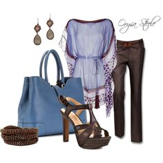 Periwinkle, created by orysa on Polyvore