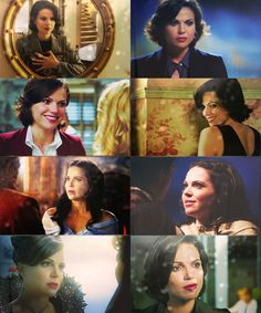 Once Upon a Time- Regina/Evil Queen. She's so beautiful, but so easy to hate. Lol