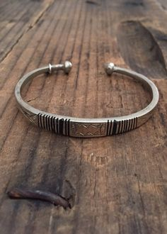 Cassidy Cuff Mens Silver Jewelry, Mens Gold Bracelets, Sterling Silver Bracelets, Jewelry Bracelets, Omega, Viking Jewelry, Bracelet Designs, Jewelery, Silverfish