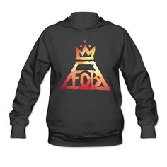 Fall Out Boy Crown Logo Women's Hoodie ** To view further for this item, visit the image link.
