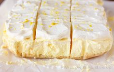 Lemon Cream Pie Bars with @Plugra Butter !