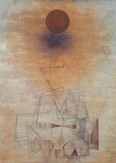 un peu de rondeur pour l'équilibre Paul Klee