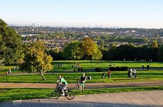 The View of London from Alexander Palace