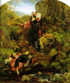 The Bluidie Tryst  by Joseph Noel Paton (ARC)