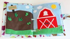 Farm: Garden and Barn - ALSO, The Quiet Book Blog - Tons of cool quiet book ideas!