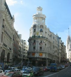 Central district in Madrid, Spain
