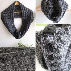 elisabethandree crochet cowl
