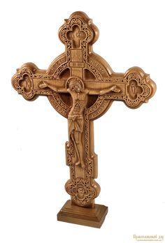 Крест резной (990025) - купить в интернет магазине Православный Дар