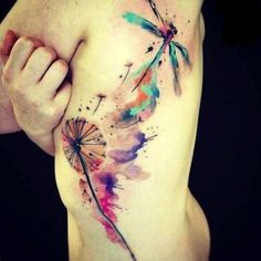 Definitely thinking my next tattoo will be in watercolor.