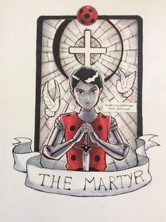 La mártir