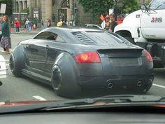 Audi TT custom rear