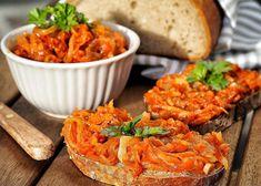 Bulgarian Recipes, Russian Recipes, Bulgarian Food, Vegan Life, Raw Vegan, Preserving Food, Bruschetta, Tandoori Chicken, Pesto