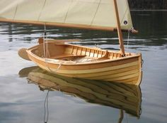All cool stuff, all the time - since Feb 27 / 2011 Sailboat Plans, Wooden Sailboat, Cool Boats, Small Boats, Chesapeake Light Craft, Wooden Boats For Sale, Sailing Dinghy, Sailing Boat, Sailing Ships