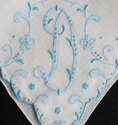 lots of beautiful handkerchiefs