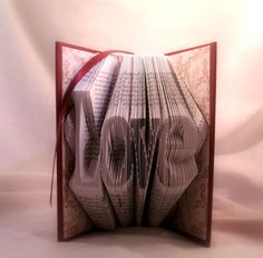 Jane Austen-valentine's day gift-book art-Upcycled book-recycled book-book sculpture-Emma-Sense and sensibility by OutOfBoundBooks on Etsy
