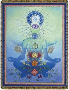 Chakraman Blue - Woven Blanket