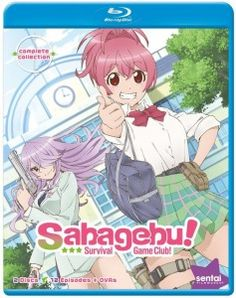 Sabagebu: Survival Game Club Complete Collection Blu-ray Anime Review
