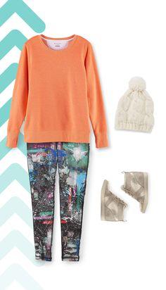Soft fleece lining makes this women's Tek Gear sweatshirt a completely comfortable choice. Sonoma Goods For Life, Curvy Fit, Kohls, Jennifer Lopez, Maui, Athleisure, Autumn Winter Fashion, Bright Colors, Crew Neck Sweatshirt