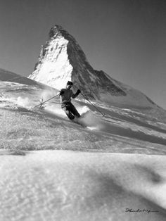 Leinwandbild in 2019   Skitour   Skiing, Ski posters und ...