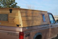 CLICK HERE FOR THE NEW AND UPDATED TOPPER FOR THE TACOMA AS OF MARCH 2014 Okay, it's not really a dog house but was made to hold my dogs in some sort of comfort on a long road trip without t…