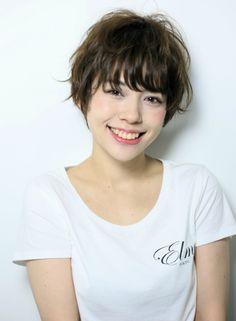 Elme style !! ショート 【Elme】 http://beautynavi.woman.excite.co.jp/salon/26963?pint…