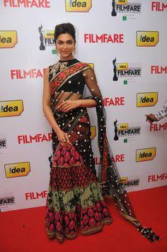 Deepika Padukone in Sabyasachi Mukherjee