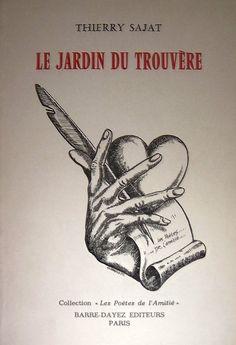 """""""Le jardin du trouvère"""" Thierry Sajat (1983) - Couverture de Gérard Basiletti"""