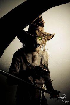 Scarecrow Cosplay by Boredman on DeviantArt Scarecrow Cosplay, Halloween Scarecrow, Halloween Cosplay, Halloween Ideas, Halloween 2020, Scary Characters, Comic Book Characters, Comic Books, Cool Costumes