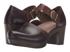 Dansko Darlene in Brown (Chocolate Full Grain Leather) | Lyst