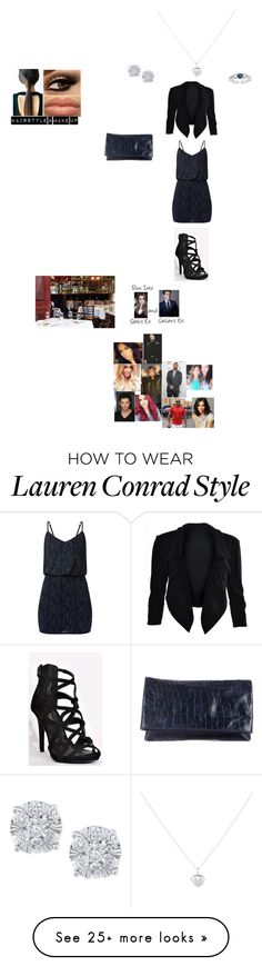"""""""Dinner & Running Into Ex's (Cailan's Outfit)"""" by wwetnagirl on Polyvore featuring Accessorize, Effy Jewelry, Alice + Olivia, Lauren Conrad, WWE, Lutz Huelle and Alexander McQueen"""