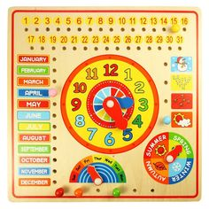 BigJigs+Calendar+Board