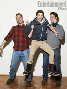 "Matthew McConaughey, Tye Sheridan, and Jeff Nichols cast of ""Mud."""
