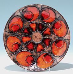 RUSCHA Keramik Wandteller Ø 23 cm #16486
