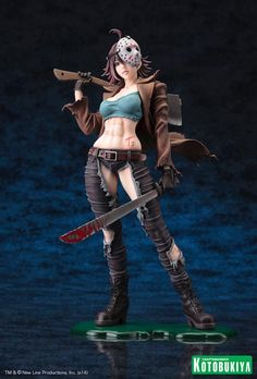 [KOTOBUKIYA] Freddy vs. Jason: Figura Bishoujo da Jason Vorhees