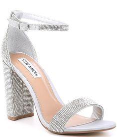 Prom Heels, Wedding Heels, Wedding Shoes Block Heel, Ankle Strap Block Heel, Ankle Strap Heels, Ankle Straps, Dress And Heels, Dress Sandals, Shoes Sandals