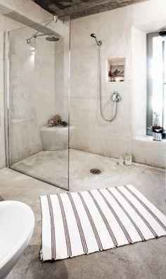 89 Lovely Bathroom Shower Remodel Ideas - Page 5 of 90 Open Showers, Small Showers, Simple Bathroom, Modern Bathroom, Bathroom Ideas, Bathroom Showers, Minimalist Bathroom, Ideas Baños, Decor Ideas