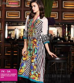 Girls! It's time to wear style! Beautifully embroidered kurti collection is out now with the reasonable price. Grab your favorite kurti and make your Eid day stylish! Price: PKR: 2450 ☛ {+92-322-3504542}