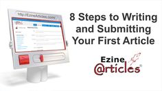 8 Steps to Writing and Submitting Your First Article