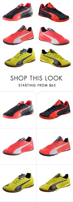 Indoor Soccer Shoes by timmichael on Polyvore featuring Puma