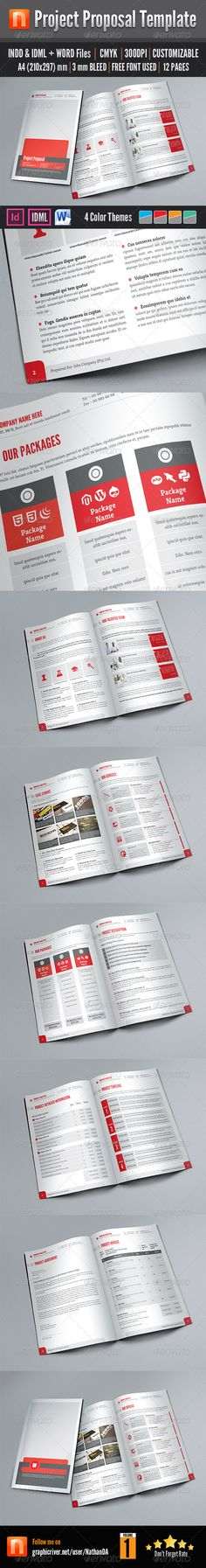 Proposal Template Proposal templates, Proposals and Business - project proposal template free