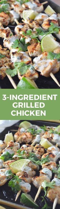 Best 3-Ingredient Grilled Chicken