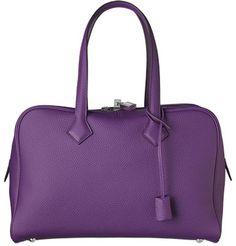 Hermes Victoria : love this color (ultraviolet)