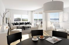 Sørenga - Sjønære leiligheter med balkong og heis. De fleste